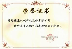 Hebei Benchmarking Business Model - 2nd Batch