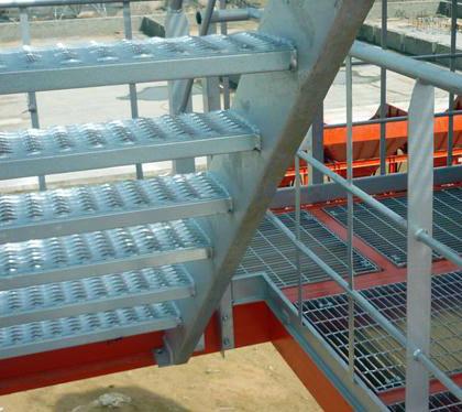 德基機械拌合站樓體細節展示