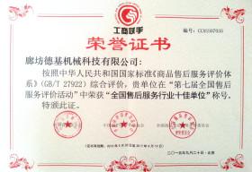 Top 10 Best PRC After-Sales Service Enterprises