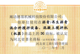 Well-known Trademark of Hebei